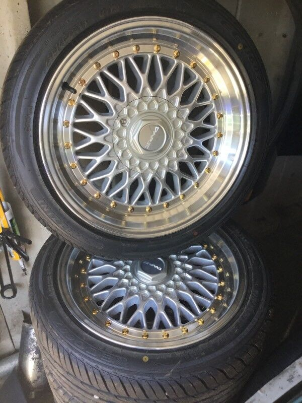 """Dare dr rs 5x100 5x112 17"""" 8.5j"""