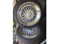 "Dare dr rs 5x100 5x112 17"" 8.5j"