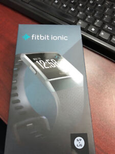 Fitbit Ionic - Charcoal Grey