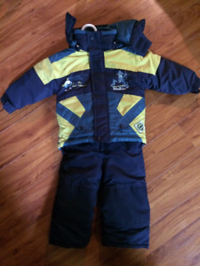 Mini ski cruiser Snowsuit 2 piece , jacket and snowpants for 24m
