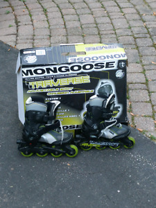 Mongoose children's rollerblades