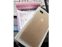 Iphone 7 Plus 128GB GOLD unlocked to All Networks
