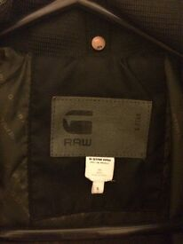 G Star Raw Whistler Hooded Bomber Jacket - Size Small