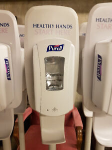 PURELL FOAM HAND SANITIZER DISPENSER WITH STAND