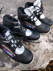 Cross country ski's and boots