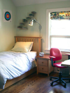 Contents Sale-bed, table, bean bag chair, more-Dundas W & Bloor