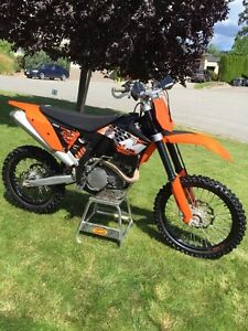 KTM 450 XC-W with only 54 hours!!!