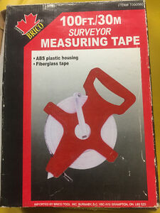 Surveyor 100 Feet Tape Measuring for sale