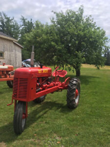 1938 General GG  &1945 BF Avery tractors