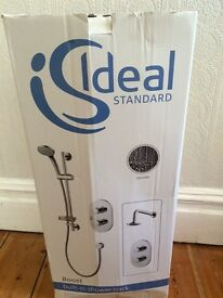 Ideal Standard Trevi Boost showers in Chrome £300 each when new TWO AVAILABLE