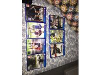 7 games for sale £40