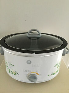 GE Double-Bowl slow cooker