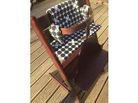 Stokke Tripp Trapp high chair plus accessories
