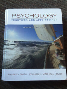 Psychology 1000 textbook - Frontiers and Applications London Ontario image 1