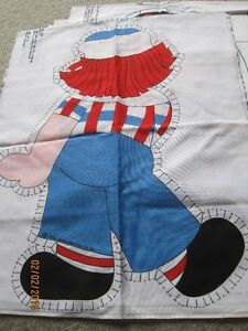 Raggedy Ann & Andy, Holly Hobbie screen prints to craft Windsor Region Ontario image 4