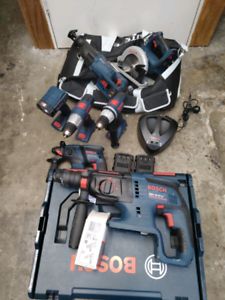 BEST 36V BLUE BOSCH PROFESSIONAL TOOL KIT EVER!! Potts Point Inner Sydney Preview