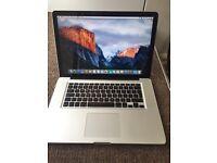 Macbook Pro Mid-2010 15-inch i5 4gb ram 320gb hard disk