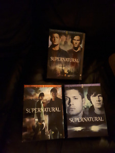 Supernatural seasons 1,2,4 all in excellent condition.