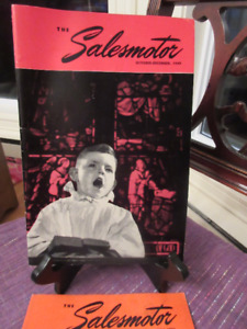 Vintage: The Salesmotor 1949-1050  Imperial Oil Magazines