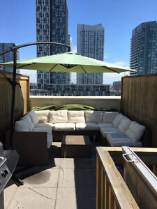 1 Bedroom Penthouse with private rooftop terrace for Rent $2200