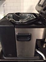 Electric Turkey Deep Fryer with Timer