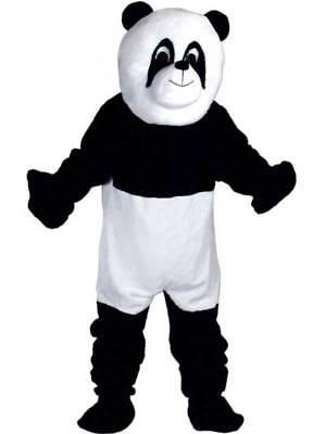 Adult Panda Bear Zoo Animal Full Body Mascot Wildlife Fancy Dress Costume - Full Body Panda Costume