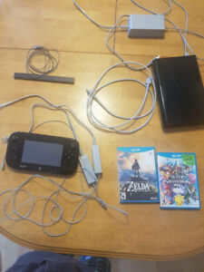 Wii U Game Console (32 GB) with 2 Games