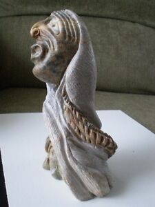 Six Nations Soapstone Carving - Al Shingkwak Kitchener / Waterloo Kitchener Area image 10