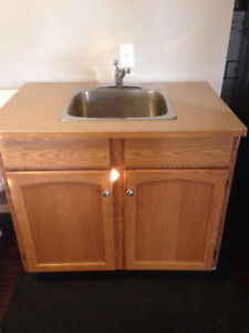 Laundry/Utility Cabinet With Sink And Faucet