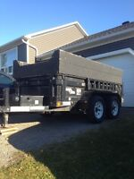 2010 LOAD TRAIL DUMP TRAILER