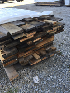 Cedar and Pine Pile for Sale - LUMBER CLEAROUT