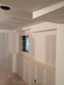 Drywall, Crackfill and Painting