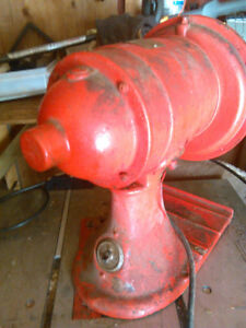 Portable older meat grinder machine  Dayton Scale Company
