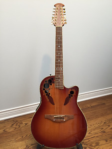 Ovation CS255 Acoustic/Electric 12 String guitar