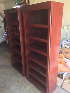 2 Book Case/Shelving Units