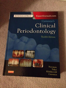 Carranza's Clinical Periodontology Hardcover 12th edition