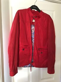 Pretty Green Men's Red Jacket size S