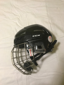 Hockey helmet-CCM FitLite 3DS  Lrg & CCM FitLite medium cage