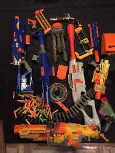 Various Nerf Guns and Accessories Cambridge Kitchener Area image 1