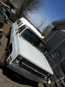 Parting out 1983 Chevy C10, 3/4 ton