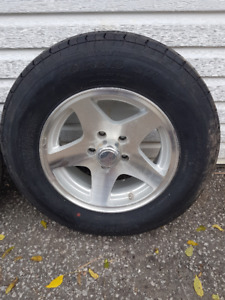 Aluminum Trailer Wheels and Tires