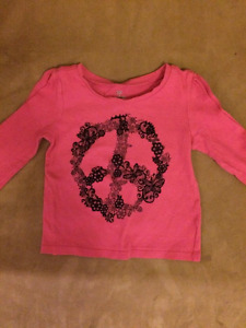 Girls Shirts/Tops, Onesies and Pants  (size 12-18 months)