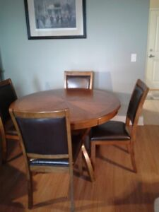 ding table and chair set