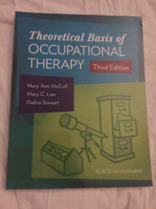 Selling Theoretical Basis of Occupational Therapy Textbook