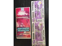 2x creamfields tickets.