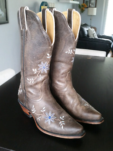 Boulet Leather Cowgirl Boots