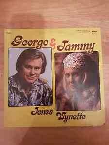 RECORD GEORGE JONES AND TAMMY WYNETTE. TEE VEE RECORDS  1979 St. John's Newfoundland image 1