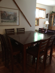 Dining room Suite High Table