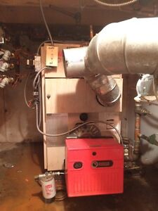 Working furnace and oil tank free