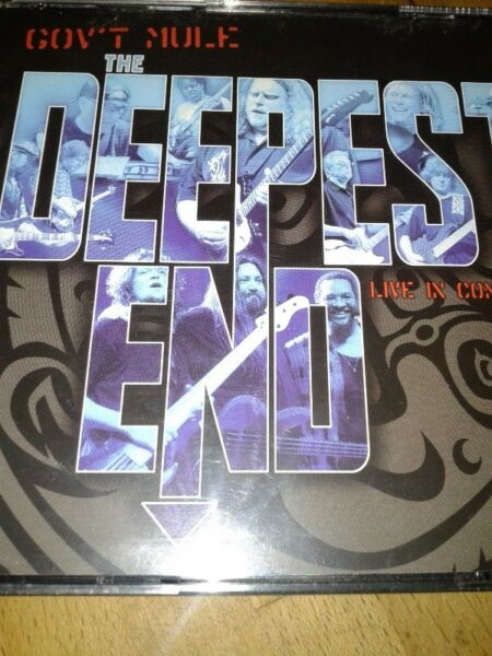 Gov't Mule - The Deepest End: Live in Concert 2 cd + dvd